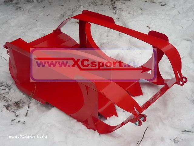Резак для прокладки лыжни