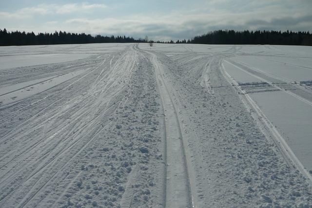 Лыжная трасса в Мураново