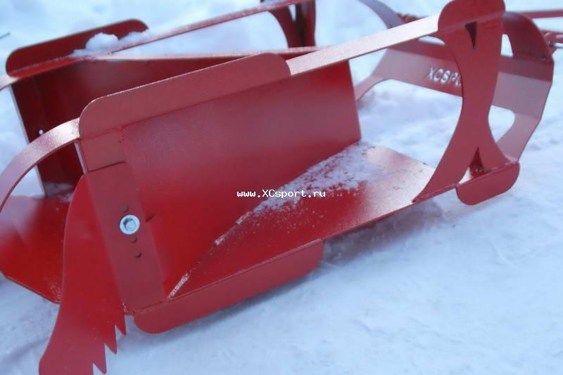 XCSPORT.RU / Фотоальбомы / Новый резак для подготовки лыжни