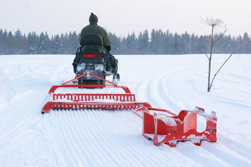 XCSPORT.RU / Новости / Экипировка / Новая модель бороны SNOWPRO для коньковой лыжни