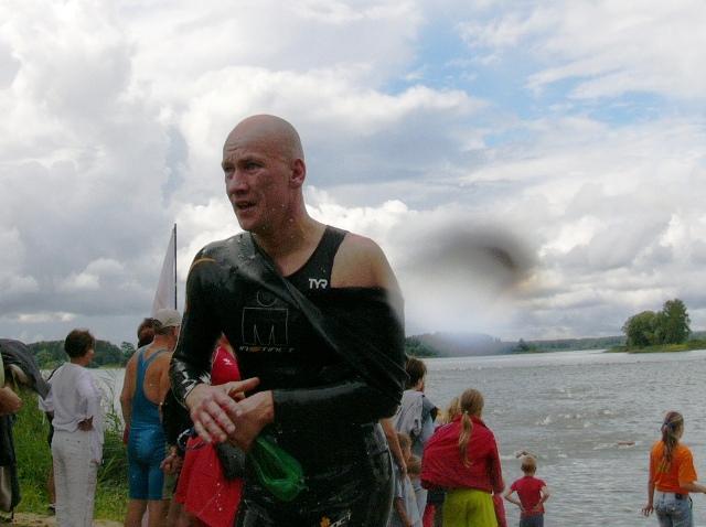 Виталий Володько после плавания