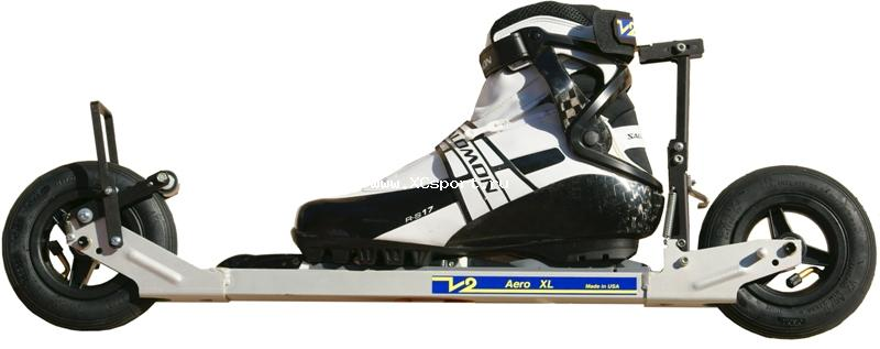 Лыжероллеры для бездорожья на надувных колесах V2 Aero
