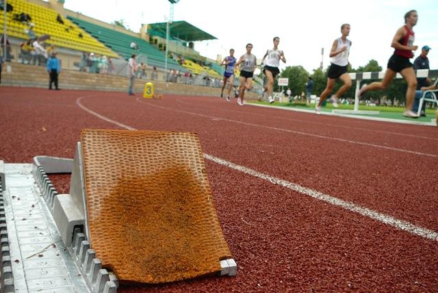 Легкая атлетика. Забег на 800 метров