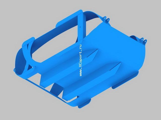 Резак (струг) для нарезания лыжни